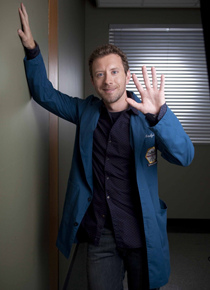 Bones studio picture of TJ Thyne as Jack Hodgins