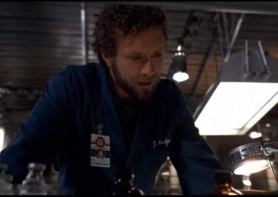 The Blonde in the Game Hodgins Has A Process