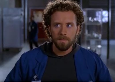 TJ Thyne The Boy in a Bush Jack Hodgins who works in a lab