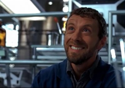 The Intern in the Incinerator Hodgins Laughing at Booth