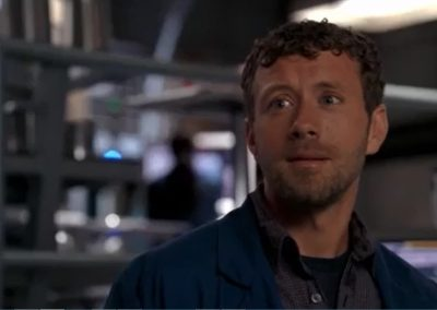 TJ Thyne The Widows Son in the Windshield