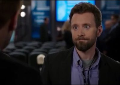 Photo of TJ Thyne in Bones Episode The Corpse in the Convention