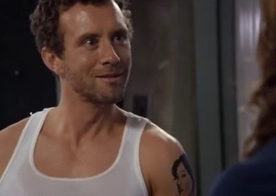 The Gamer in the Grease Angela Sees Hodgins' Tattoo