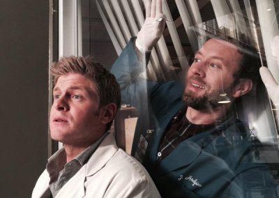 TJ-Thyne-Michael-Grant-Terry-Bones-Set-Behind-the-Scenes