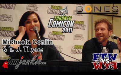 FTWvsWTF TJ Thyne & Michaela Conlin – Toronto ComiCon 2017 – Full Panel
